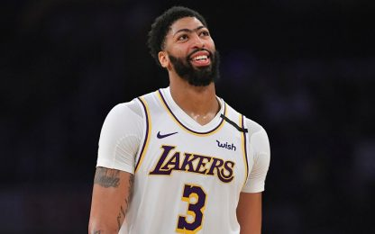 """Anthony Davis, rinnovo Lakers? """"Non c'è fretta"""""""