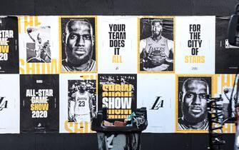 I poster per la campagna All-Star di LeBron James e Anthony Davis
