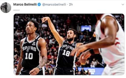 La tripla di Belinelli decide Raptors-Spurs. VIDEO