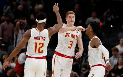 Atlanta vince in casa di San Antonio dopo 23 anni