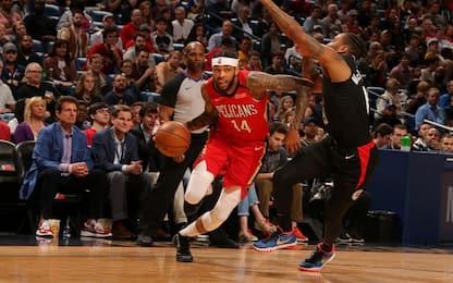 Melli e i Pelicans sfidano i Clippers: LIVE su Sky