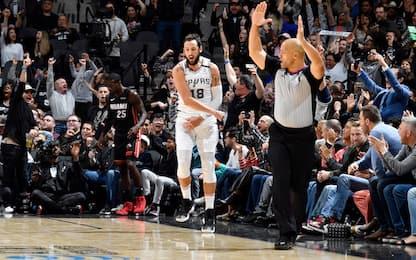 Belinelli protagonista nel successo Spurs. VIDEO