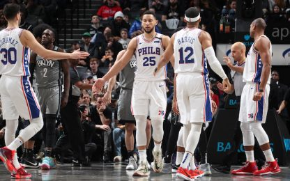 Simmons scatenato, Philadelphia vince a Brooklyn