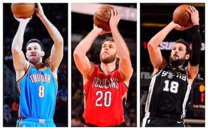 I tre italiani protagonisti nella notte NBA. VIDEO