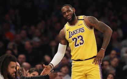 I Lakers vincono al MSG, crolla L.A. ad Atlanta