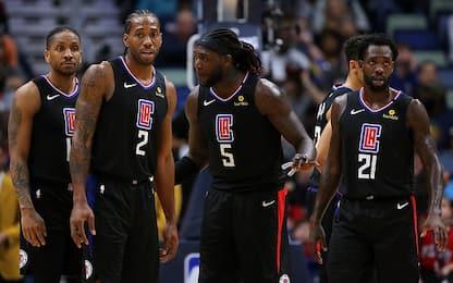 Dentro i problemi dello spogliatoio dei Clippers
