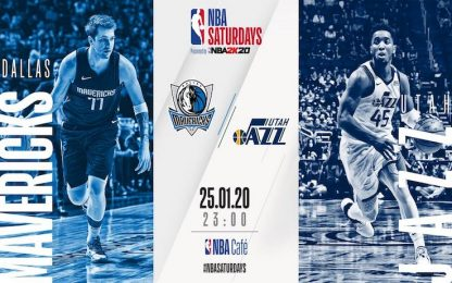 NBA Saturdays: Utah-Dallas su Sky Sport