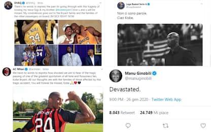 Addio Kobe, sport sotto choc: le reazioni social
