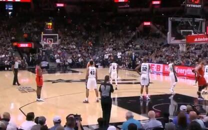 Kobe, l'omaggio di Raptors e Spurs. VIDEO