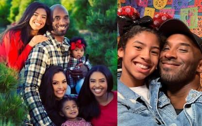 La moglie Vanessa e 4 figlie: la famiglia di Kobe