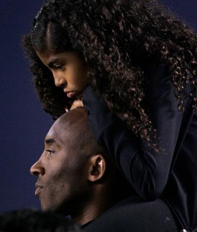 Kobe Bryant e la figlia Gigi