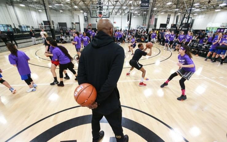 Kobe Bryant allenatore per la sua Academy