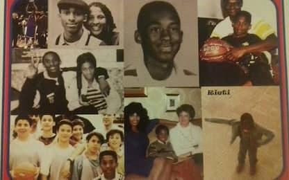 Kobe Bryant in Italia: tutte le foto da bambino