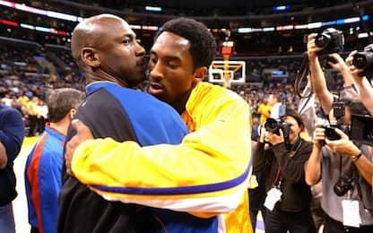 Dal 23 al 24: come Kobe è diventato Jordan. VIDEO