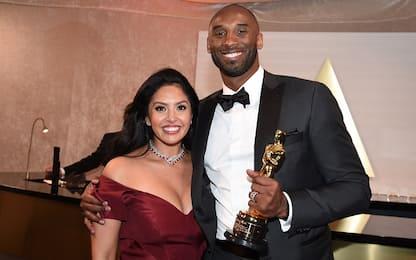 "Kobe, dedica a Vanessa all'Oscar: ""Ti amo"". VIDEO"
