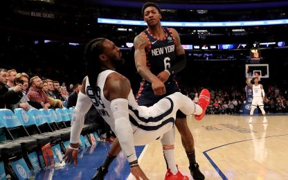Rissa Knicks-Grizzlies: le squalifiche e le multe