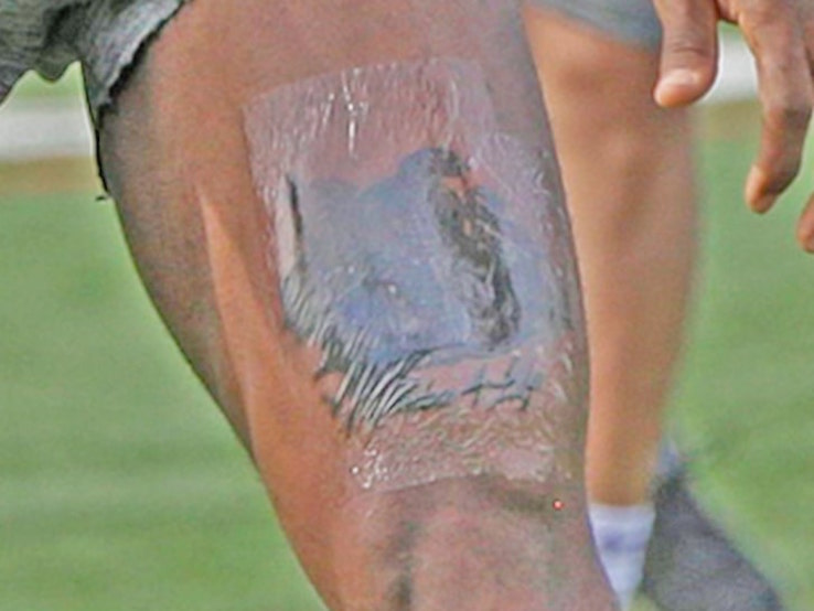 LeBron James tatuaggio Kobe Bryant