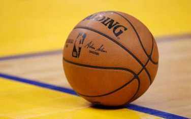 SAN FRANCISCO, CALIFORNIA - JANUARY 04: A detail shot of the basketball during the game between the Golden State Warriors and the Detroit Pistons at Chase Center on January 04, 2020 in San Francisco, California. NOTE TO USER: User expressly acknowledges and agrees that, by downloading and/or using this photograph, user is consenting to the terms and conditions of the Getty Images License Agreement. (Photo by Lachlan Cunningham/Getty Images)