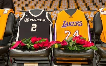Kobe, il ricordo Lakers allo Staples. FOTO e VIDEO