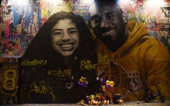 LOS ANGELES, CALIFORNIA - FEBRUARY 01: Los Angeles Remembers NBA Star Kobe Bryant on February 01, 2020 in Los Angeles, California. (Photo by Amanda Edwards/Getty Images)