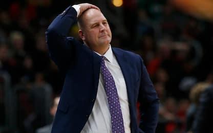 I Chicago Bulls hanno licenziato coach Jim Boylen