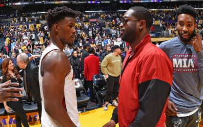 """L'investitura di Wade per Butler: """"È da Heat"""""""