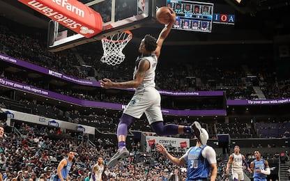 Perché Monk non è allo slam dunk contest? VIDEO
