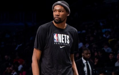 Kevin Durant scatenato in allenamento. VIDEO