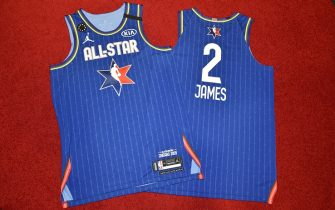 CHICAGO, IL - FEBRUARY 12: The LeBron James All Star tops during the Uniform Shoot on Wednesday, February 12, 2020 at the United Center in Chicago, Illinois. NOTE TO USER: User expressly acknowledges and agrees that, by downloading and or using this Photograph, user is consenting to the terms and conditions of the Getty Images License Agreement. Mandatory Copyright Notice: Copyright 2020 NBAE (Photo by David Dow/NBAE via Getty Images)