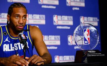 """Kawhi Leonard: """"Grazie Kobe: il premio è per lui"""""""