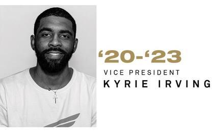 Kyrie Irving nuovo vicepresidente della NBPA
