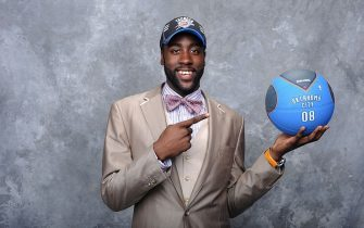NEW YORK - JUNE 25:  James Harden poses for a portrait during the 2009 NBA Draft at The WaMu Theatre at Madison Square Garden on June 25, 2009 in New York, New York. NOTE TO USER: User expressly acknowledges and agrees that, by downloading and or using this photograph, User is consenting to the terms and conditions of the Getty Images License Agreement. Mandatory Copyright Notice: Copyright 2009 NBAE (Photo by Jennifer Pottheiser/NBAE via Getty Images)
