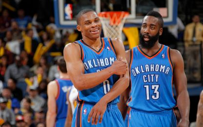 """Harden&Westbrook: """"A OKC avremmo vinto un titolo"""""""