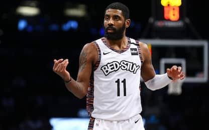 Irving, ricaduta alla spalla: stagione già finita?