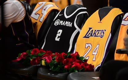 Kobe Bryant, il Memorial in diretta su Sky