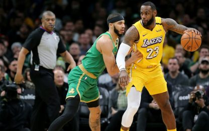 Lakers-Celtics: sfida storica in streaming su Sky