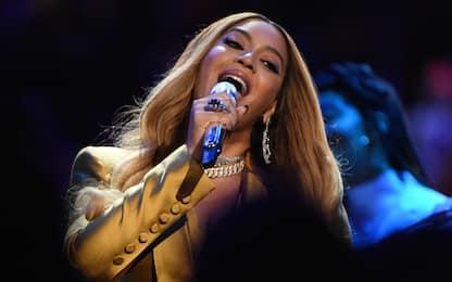 Emozionante esibizione di Beyoncé per Kobe. VIDEO