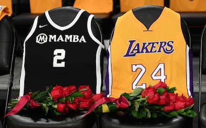 Il Memorial di Kobe allo Staples Center. FOTO