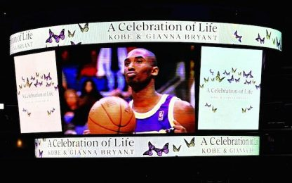 Kobe Bryant, il memoriale su Sky Sport: STREAMING