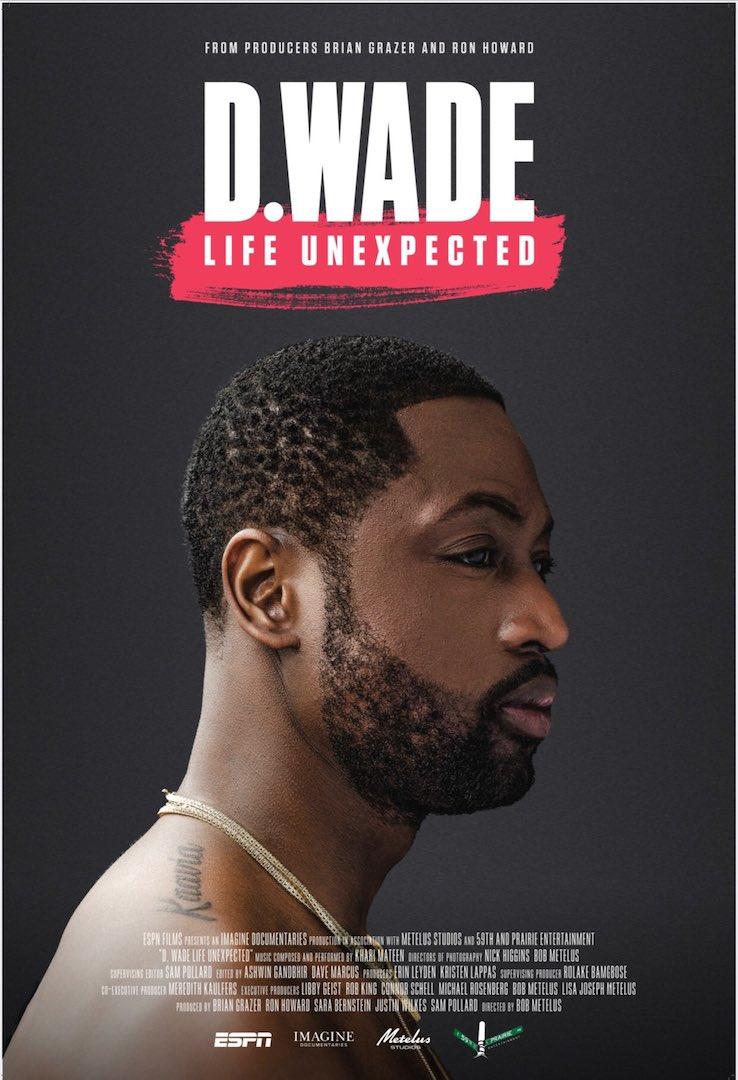 Il poster del documentario su Dwyane Wade