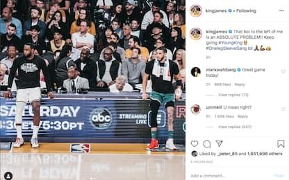 """LeBron incorona il """"giovane re"""" Tatum. FOTO"""
