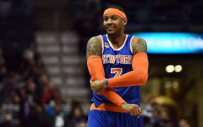 I Knicks sognano il ritorno di Carmelo Anthony