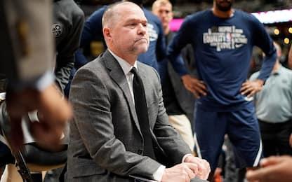 """Denver crolla a L.A., Malone attacca: """"Siamo soft"""""""