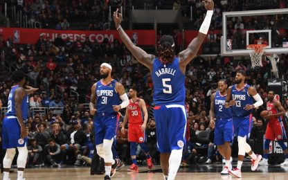 Phila senza All-Star perde a LA contro i Clippers