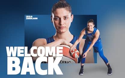 Zandalasini torna in WNBA alle Minnesota Lynx