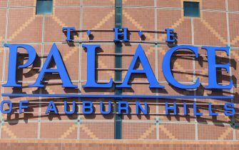 AUBURN HILLS, MI - OCTOBER 06:  A general exterior view of The Palace of Auburn Hills on October 6, 2019 in Auburn Hills, Michigan. The Palace was a multi-purpose arena that was the former home of the Detroit Pistons of the National Basketball Association (NBA), the Detroit Shock of the Women's National Basketball Association (WNBA), the Detroit Vipers of the International Hockey League, the Detroit Safari of the Continental Indoor Soccer League, and the Detroit Fury of the Arena Football League.  (Photo by Mark Cunningham/Getty Images)