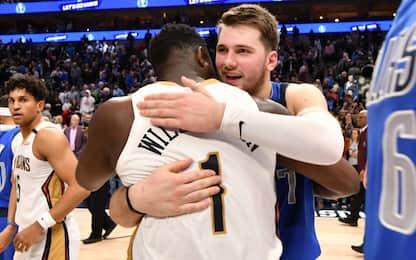 Luka vs. Zion: il futuro NBA è già qui. VIDEO
