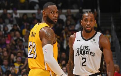I Clippers evitano i Lakers: tutti gli scenari