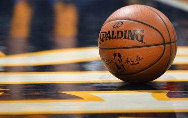 DENVER, CO - NOVEMBER 18:  A shot of the game ball during a game between the Toronto Raptors and the Denver Nuggets on November 18, 2016 at the Pepsi Center in Denver, Colorado. NOTE TO USER: User expressly acknowledges and agrees that, by downloading and/or using this Photograph, user is consenting to the terms and conditions of the Getty Images License Agreement. Mandatory Copyright Notice: Copyright 2016 NBAE (Photo by Garrett Ellwood/NBAE via Getty Images)