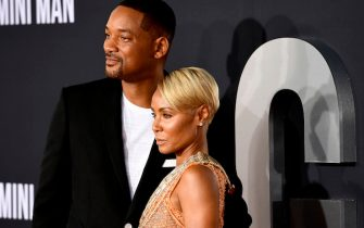 """HOLLYWOOD, CALIFORNIA - OCTOBER 06: Jada Pinkett Smith and Will Smith attend Paramount Pictures' Premiere Of """"Gemini Man"""" on October 06, 2019 in Hollywood, California. (Photo by Frazer Harrison/Getty Images)"""